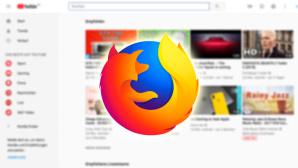 Firefox Logo vor YouTube-Hintergund©Firefox/YouTube