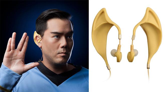 star trek in ear kopfh rer mr spock audio video foto bild. Black Bedroom Furniture Sets. Home Design Ideas