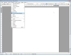 SmartTools Adress-Manager für Word