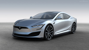 Tesla Model S 2: Studie von Emre Husmen©Emre Husmen, ElektroAutoMobil