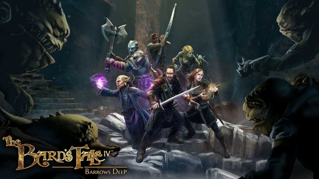 The Bard's Tale 4: Barrows Deep © InXile