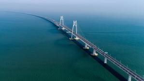 Brücke in China zwischen Macau, Zhuhai und Hongkong©VCG/gettyimages