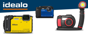 Unterwasserkameras©Sealife, Nikon, Panasonic