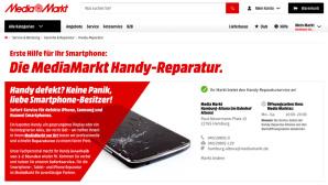 Media Markt: So schnell soll das Handy heil sein!