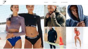 Sportswear von Gymshark©Screenshot https://de.gymshark.com