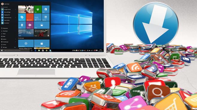 Die 100 besten kostenlosen Microsoft-Programme zum Herunterladen COMPUTER BILD hat f�r Sie die 100 besten kostenlosen Microsoft-Programme herausgesucht. ©Oleksandr Delyk - Fotolia.com, �istock.com/rasslava