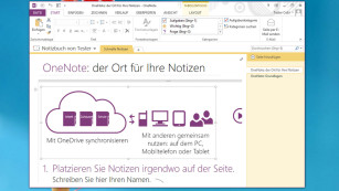Jetzt laden: Die 100 besten kostenlosen Microsoft-Programme Fr�her kostenpflichtig, nun gratis: OneNote. Spontane Geistesblitze sind darin schnell festgehalten. ©COMPUTER BILD