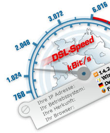 dsl speedtest wie schnell ist ihr internet anschluss wirklich computer bild. Black Bedroom Furniture Sets. Home Design Ideas