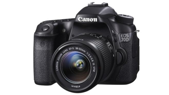 Canon EOS 70D (Altes Testverfahren bis 2015) ©Canon