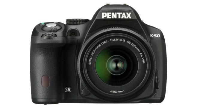 Pentax K-50 (Altes Testverfahren bis 2015) ©Pentax