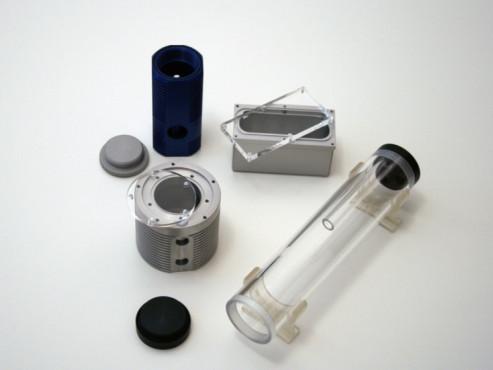 Ausgleichsbehälter zum Befüllen und Sammeln der Luft