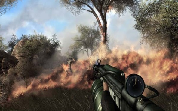 Actionspiel Far Cry 2: Buschbrand