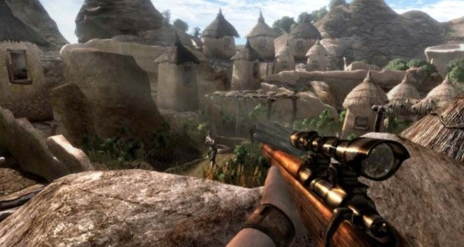 Actionspiel Far Cry 2: Dorf