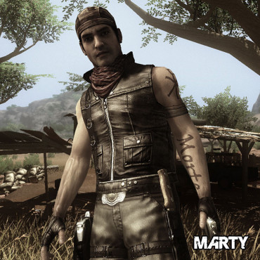 Actionspiel Far Cry 2: Marty