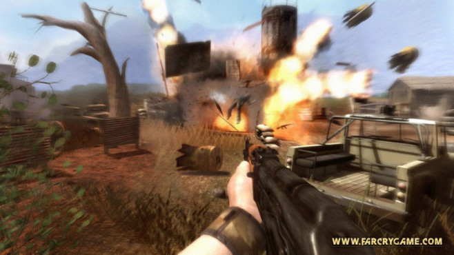 Actionspiel Far Cry 2: Spielspaß