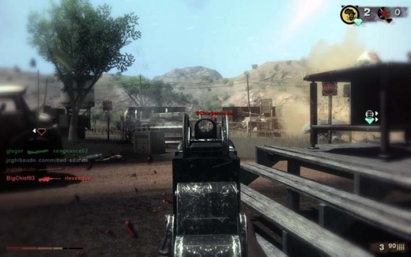Actionspiel Far Cry 2: Waffe