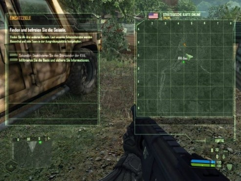 Crysis: Level 3 Das Relikt (Teil 1) Die KVA-Basis