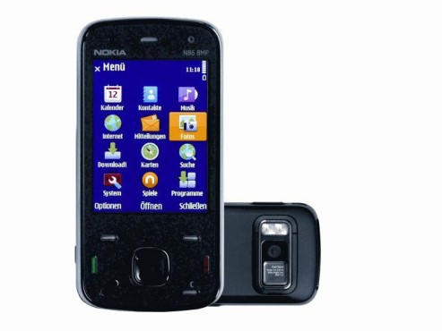 Nokia N86 8MP: Handy
