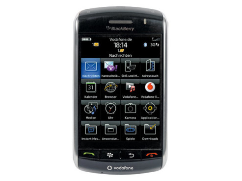 RIM BlackBerry 9500 Storm: Handy