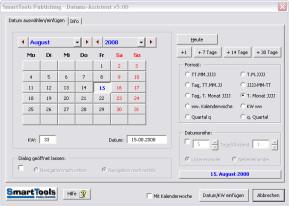 SmartTools Datumsassistent für Excel