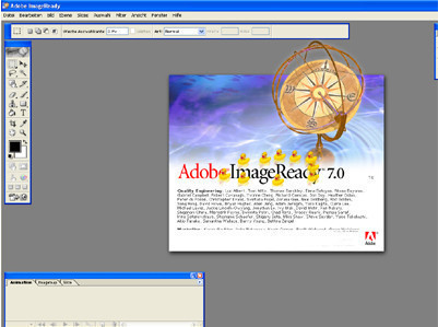 DVD, Programme, Audio und CD: 26 coole Eastereggs Adobe Image Ready 7.0