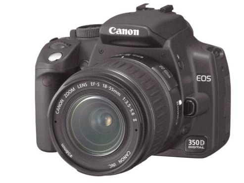 Die besten Weihnachtsgeschenke von 200 bis 500 Euro Canon EOS 350D (Kit)