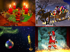 Die schönsten Bildschirmschoner zu Weihnachten Diese Bildschirmschoner sorgen für Weihnachtsstimmung am PC.