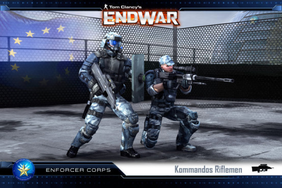 Strategiespiel Tom Clancy's Endwar: Europa