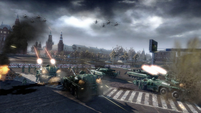 Strategiespiel Tom Clancy's Endwar: Moskau