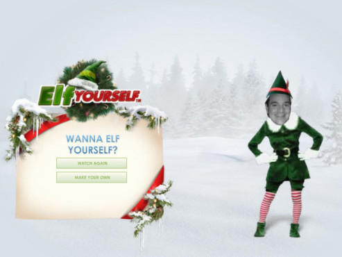 Lustige Weihnachts-E-Cards www.elfyourself.com