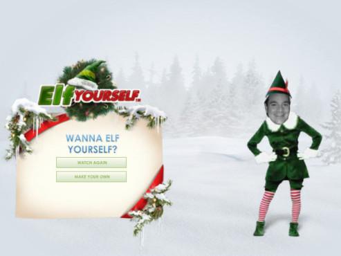 Lustige Weihnachts-E-Cards www.elfyourself.com