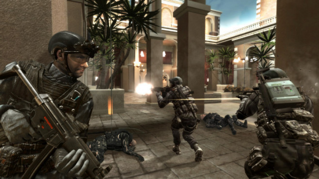 Actionspiel Tom Clancy's Rainbow Six – Vegas 2: Heranpirschen © Ubisoft