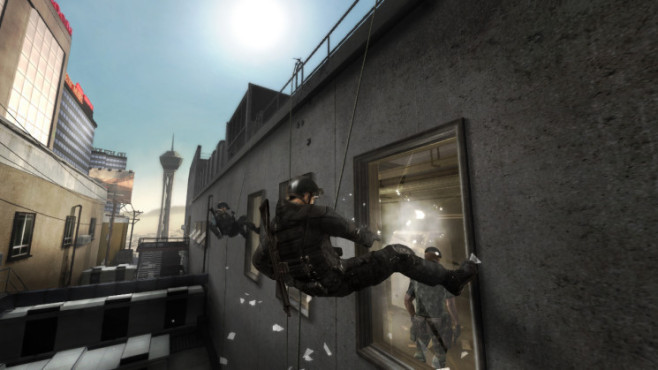 Actionspiel Tom Clancy's Rainbow Six – Vegas 2: Oben © Ubisoft