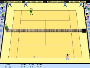 Mini-Tennis-Turnier