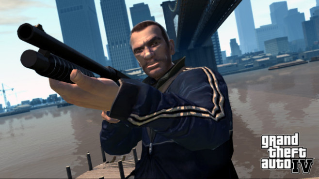 Actionspiel GTA 4: Ballermann
