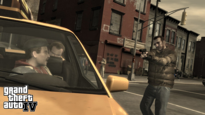 Actionspiel GTA 4: Taxi