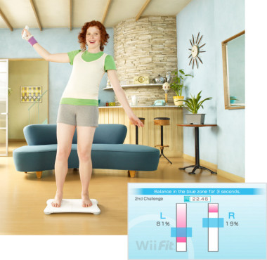 Hits 2008 Wii Fit