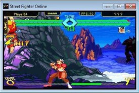 Screenshot 1 - Street Fighter Online