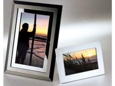 Digitale Bilderrahmen waagerecht und hochkant ©COMPUTER BILD