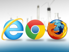 Logos von Internet-Browsern&nbsp;&copy;&nbsp;Microsoft, Google, Mozilla