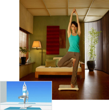 Sportspiel Wii Fit: Yoga