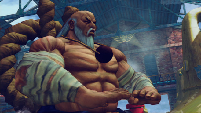 Pr�gelspiel Street Fighter 4: Bandagen © Capcom