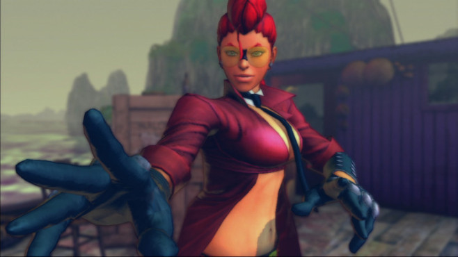 Pr�gelspiel Street Fighter 4: Crimson Viper © Capcom