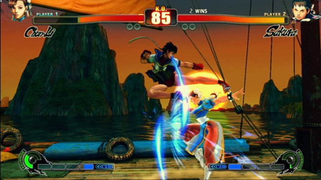 Pr�gelspiel Street Fighter 4: Damen © Capcom