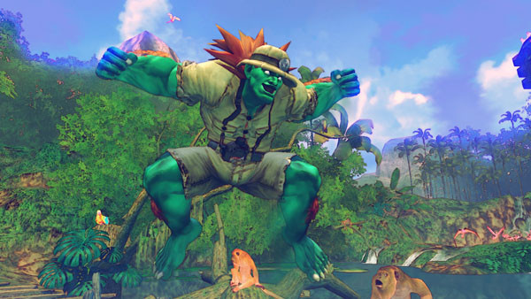Pr�gelspiel Street Fighter 4: Dschungel © Capcom