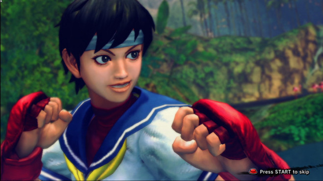Pr�gelspiel Street Fighter 4: F�uste © Capcom