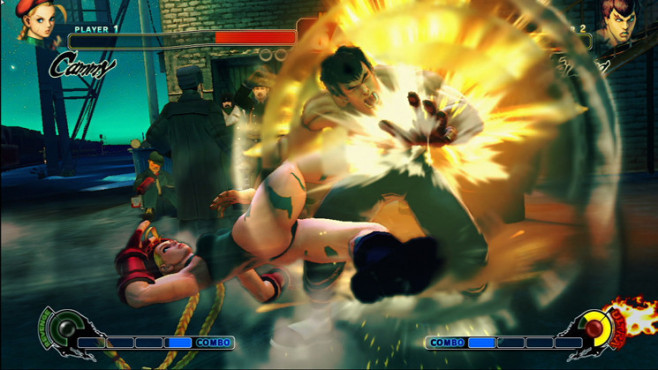 Prügelspiel Street Fighter 4: Feilong © Capcom