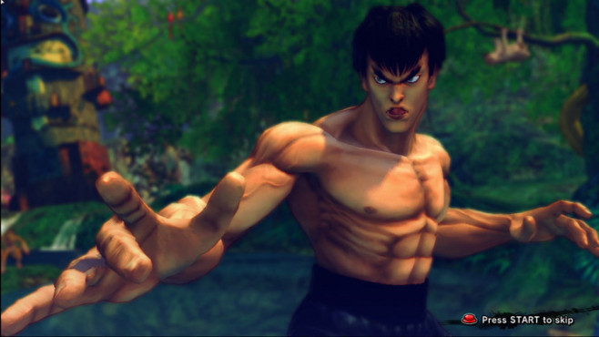 Pr�gelspiel Street Fighter 4: Feilong © Capcom
