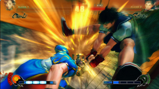 Pr�gelspiel Street Fighter 4: Finale © Capcom