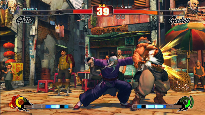 Prügelspiel Street Fighter 4: Gouken © Capcom